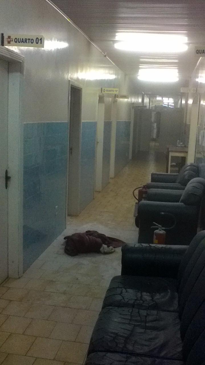 Princípio de incêndio atinge ala psiquiátrica do hospital de Tunápolis
