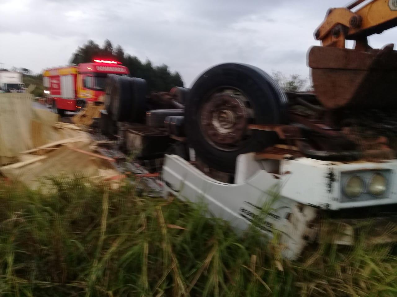 Motorista morre em acidente na SC 157