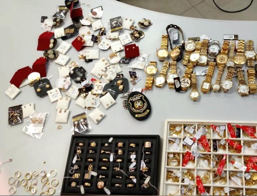 Polícia Civil recupera R$ 150 mil em joias furtadas