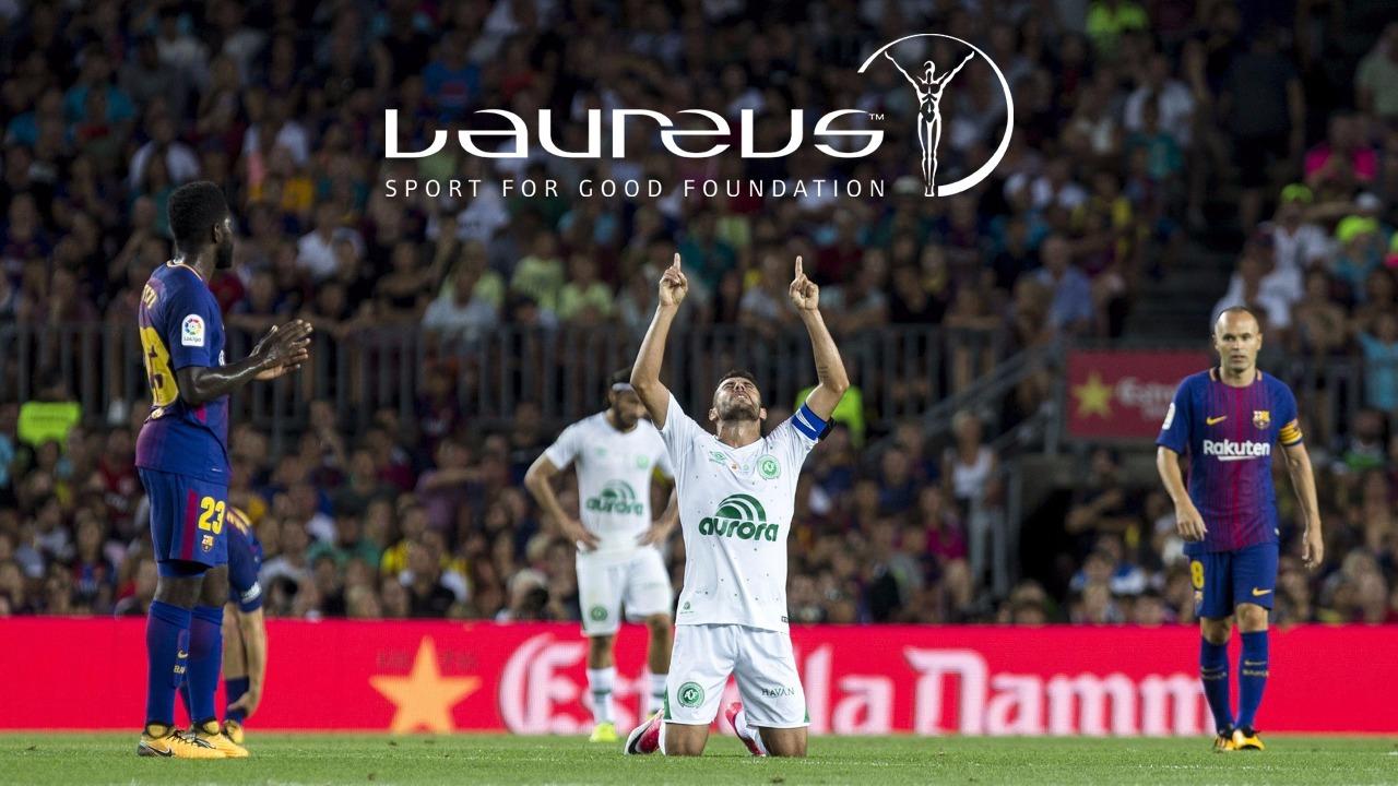 Chapecoense ganha o prêmio Laureus como o Melhor Momento do Ano