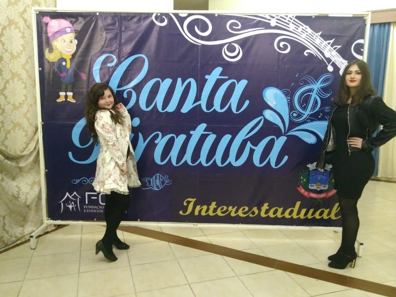 Campoerenses se classificam em festival da canção de Piratuba