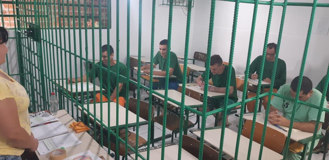 Aulas na UPA de SCedro possibilitam redução na pena de detentos