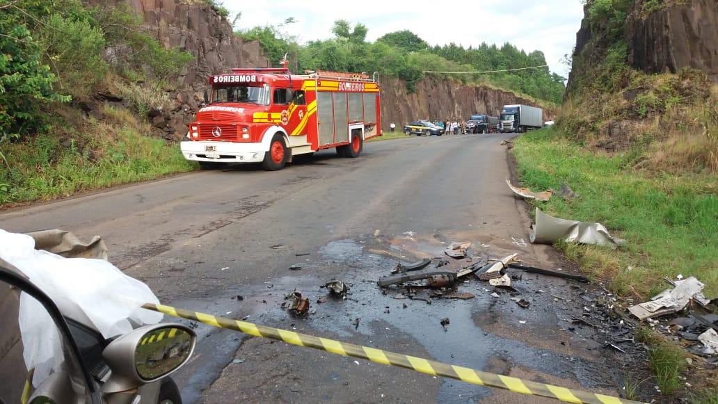 Identificadas as vítimas da colisão na BR-163