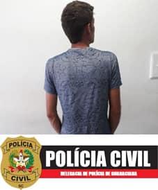 Polícia Civil de Guaraciaba prende condenado por estupro