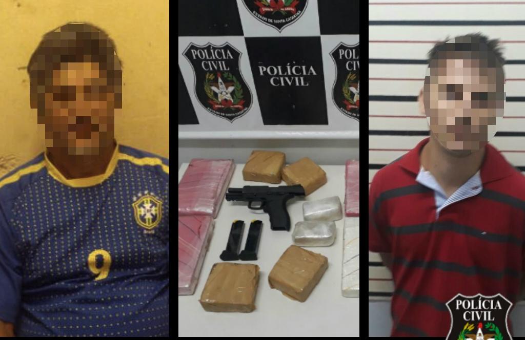 Polícia Civil desarticula quadrilha envolvida com tráfico de drogas e armas