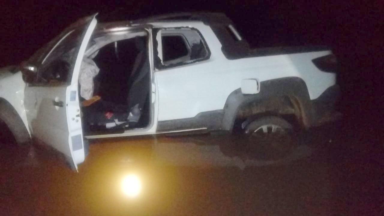 Motorista morre após carro cair de ponte em Mondaí