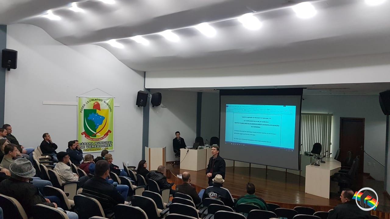 Alterações no Plano Diretor de Itapiranga estão em discussão