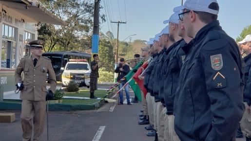 Capitão Deiber Haefliger assume 3ª Companhia de Polícia Militar Rodoviária de Iporã do Oeste