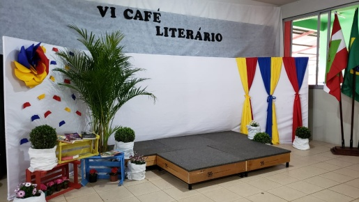 Escola Padre Vendelino Seidel promove 6ª edição do Café Literário