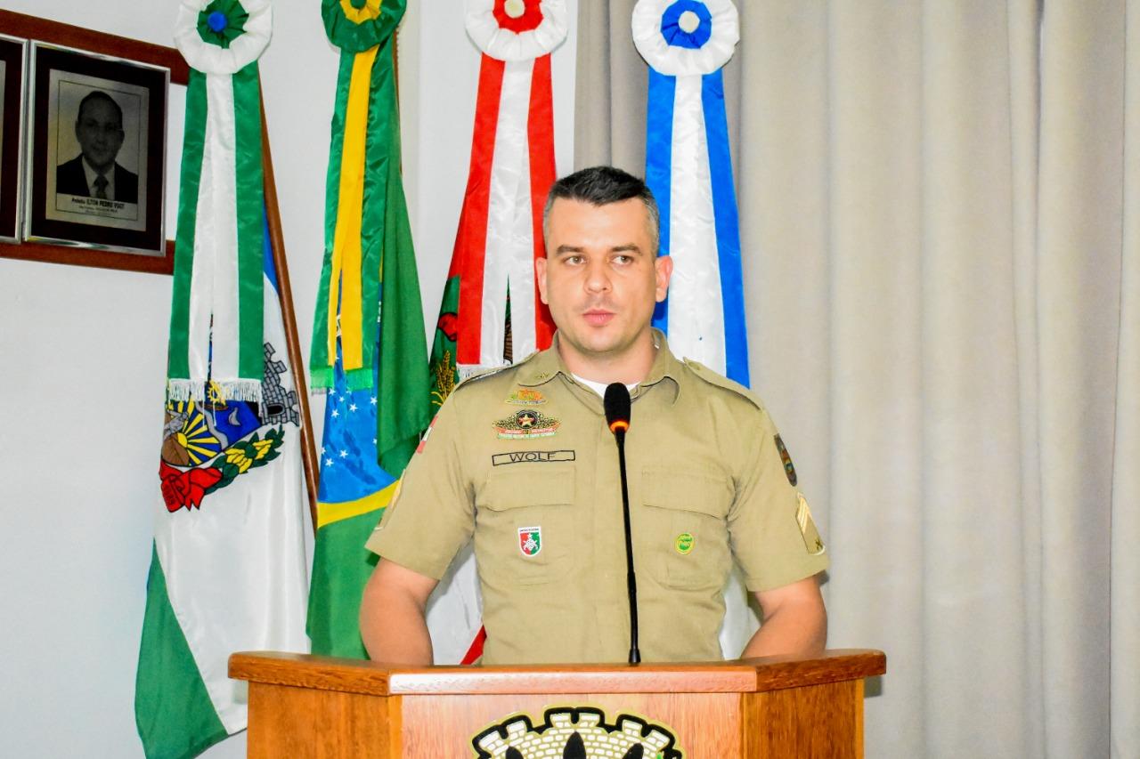 Polícia Militar de Iporã do Oeste é contemplada com projeto piloto de nova sede