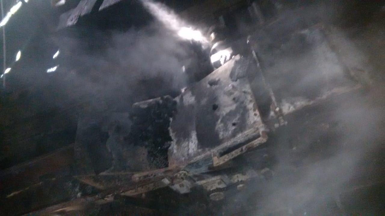 Incêndio danifica madeireira no interior de Tunápolis