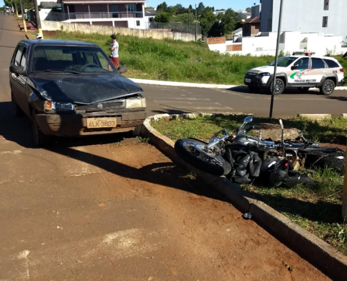 Motorista embriagado se envolve em acidente com dois feridos