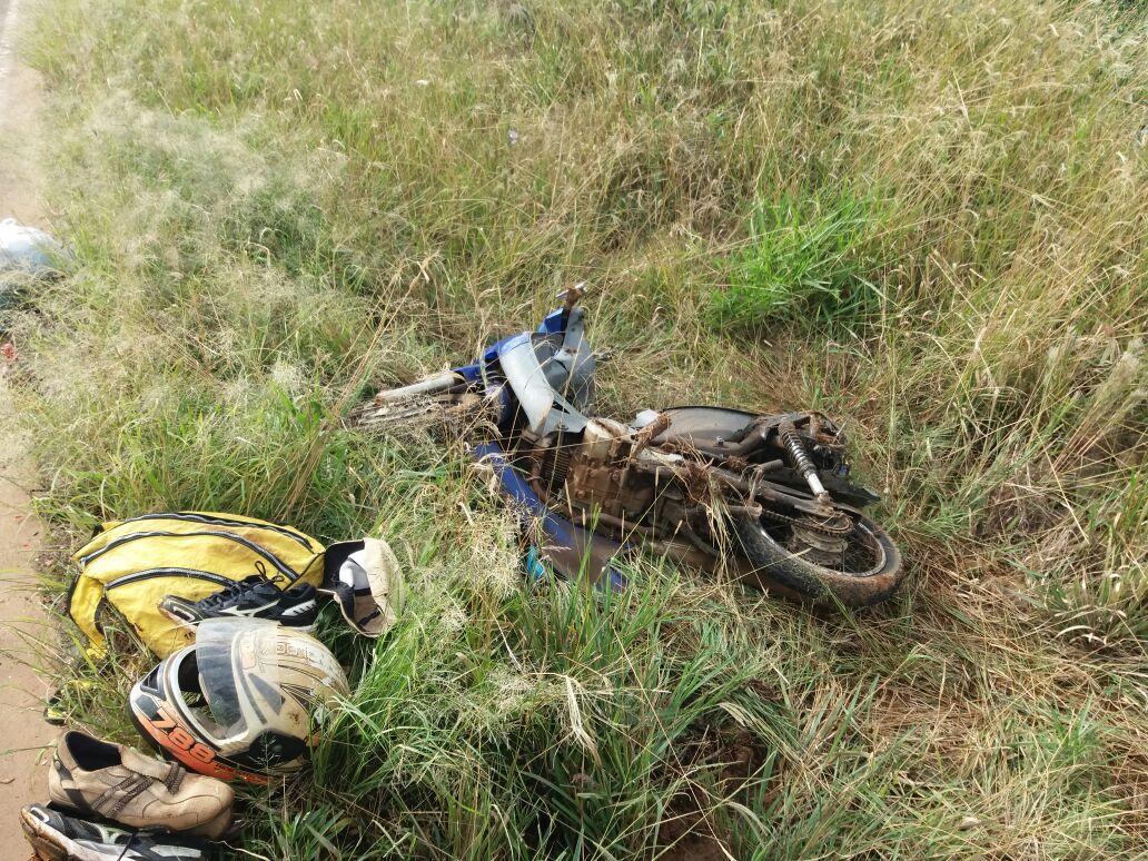 Motociclista fica gravemente ferido em colisão na SC-161