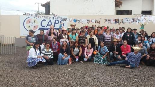 Caps promove Festa Julina para pacientes