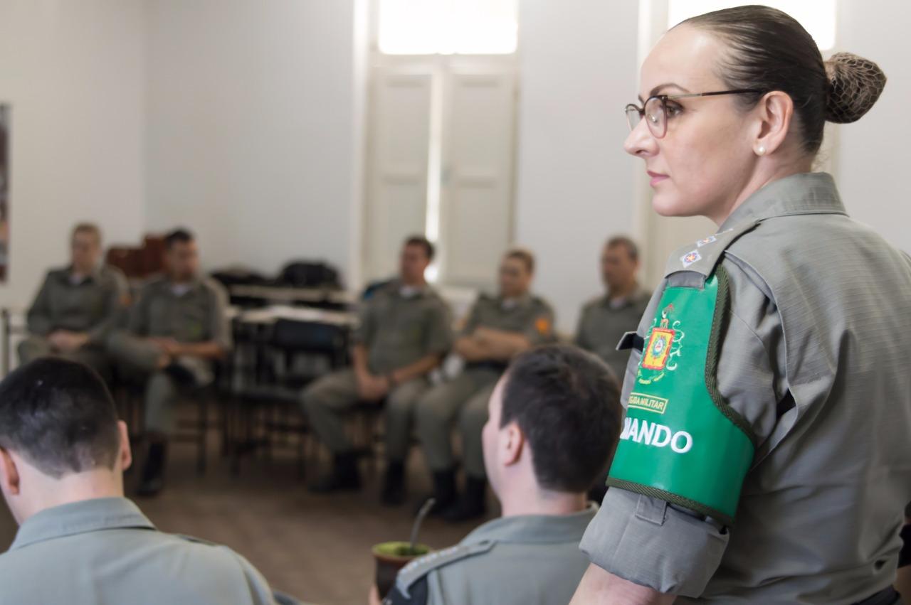Iporã-oestina responde pela coordenação da Patrulha Maria da Penha de Porto Alegre