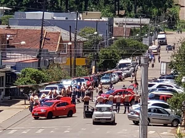 Seis assaltantes de bancos são mortos em confronto com a polícia no Rio Grande do Sul