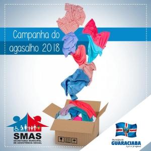 Campanha do Agasalho está em andamento em Guaraciaba