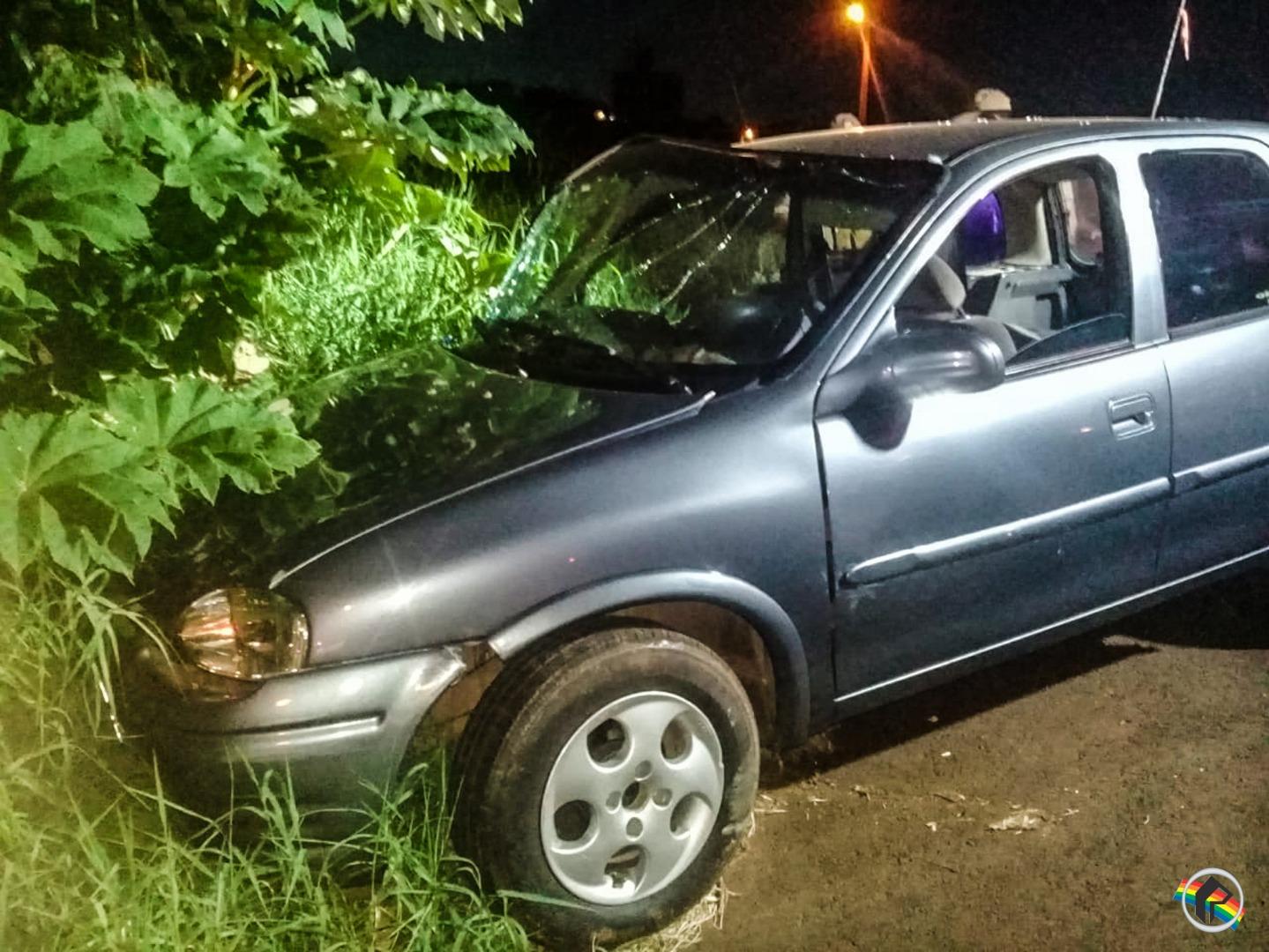 Acidente deixa quatro pessoas feridas em São Miguel do Oeste