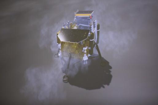Sonda chinesa pousa no lado oculto da Lua pela primeira vez na história