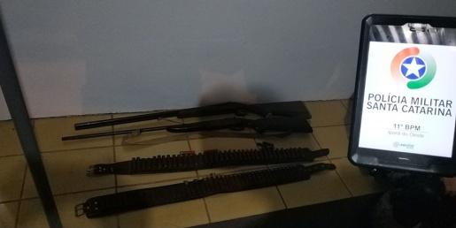 Homem é preso por posse ilegal de arma de fogo e munições em Iporã do Oeste