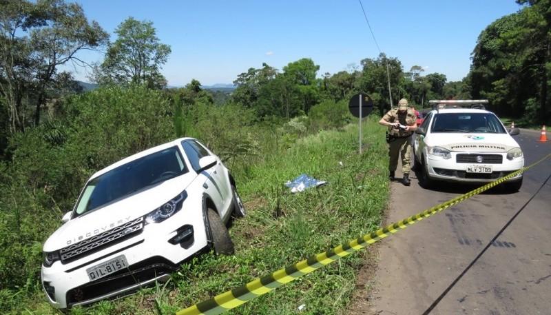 Família de São Miguel do Oeste se envolve em acidente com morte na BR-282