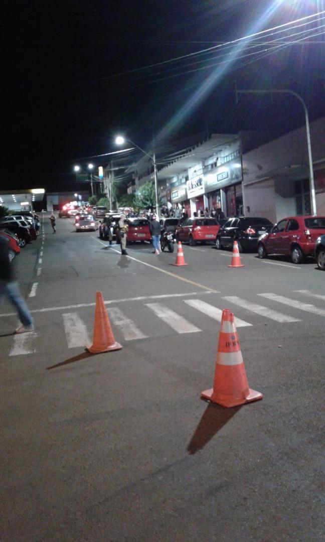 Em ação da Polícia Militar, 14 pessoas são detidas no centro de SMO