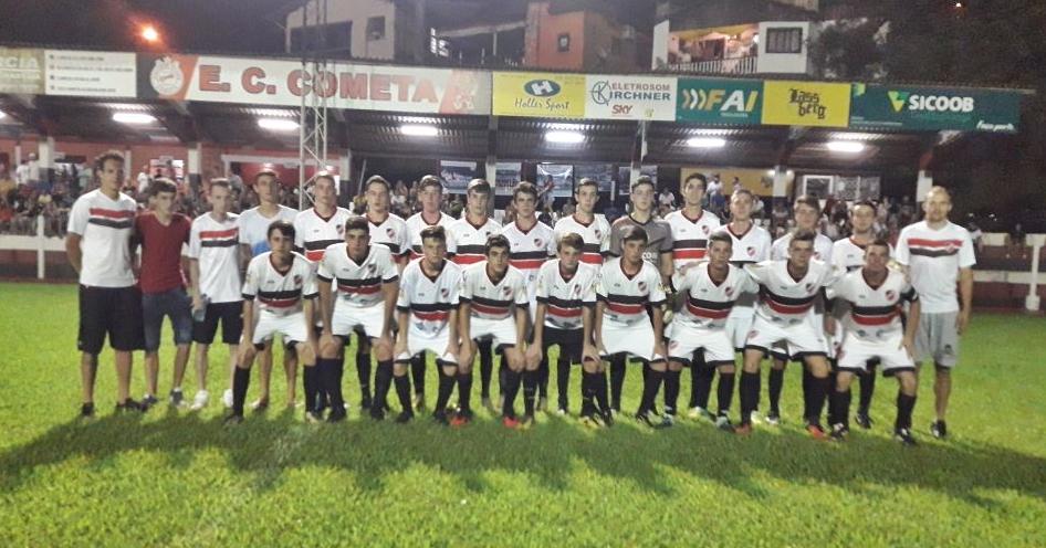 Cometa vence o Aliança no primeiro jogo da final do regional sub-18