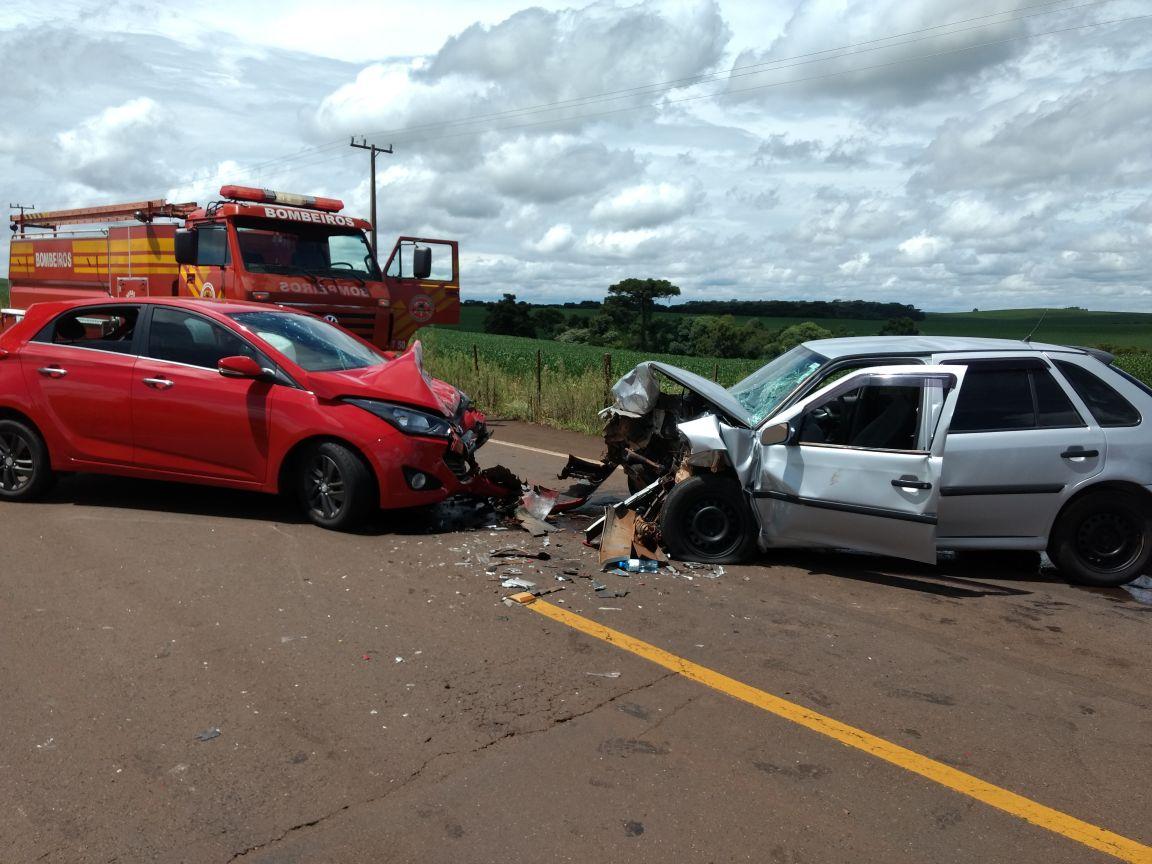 Motorista fica gravemente ferido em acidente na SC 160