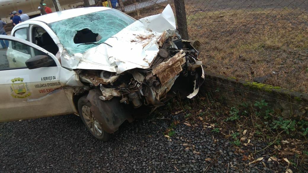 Ex-vereador morre ao ser atropelado por veículo da saúde