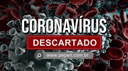 Dois casos suspeitos para coronavírus em Iporã do Oeste tem resultado negativo