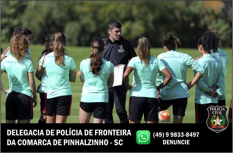 Polícia Civil indicia técnico de futebol por assédio sexual