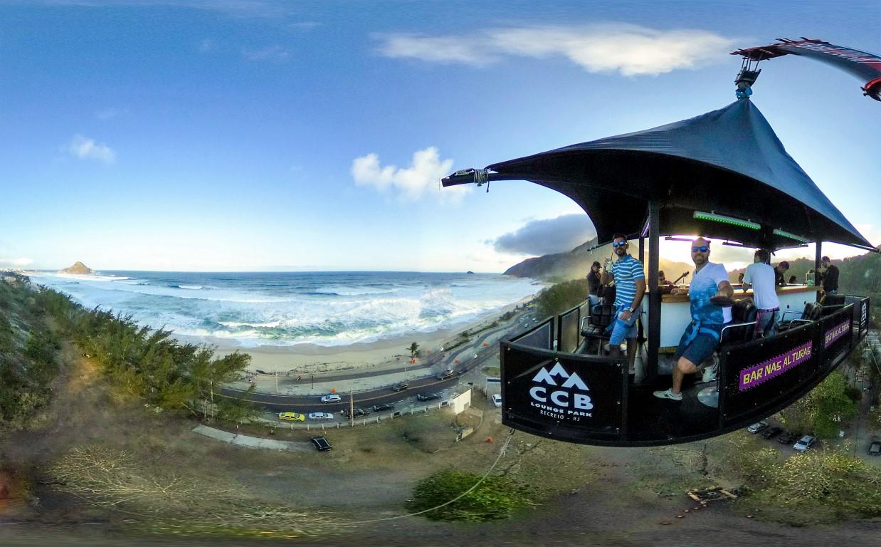 Bar nas Alturas é o destaque do 1º Moto Entrevero em São Miguel do Oeste