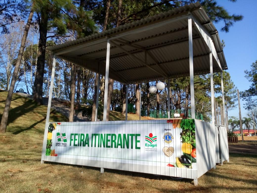 Feira livre é estendida para a Praça Belarmino Annoni e bairros