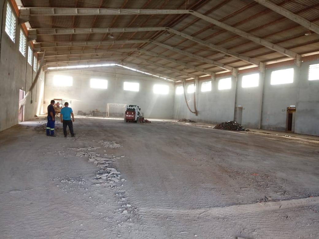Prefeitura de Tunápolis investe em nova quadra esportiva para a comunidade de linha Fátima