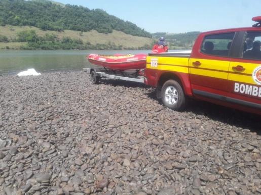 Corpo de jovem é localizado nas águas do rio Uruguai em Palmitos