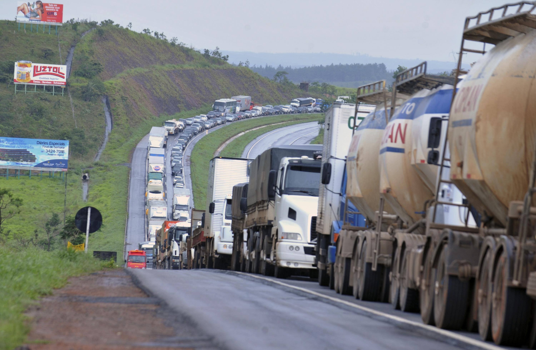 Estado catarinense é o terceiro com maior número de bloqueios em rodovias