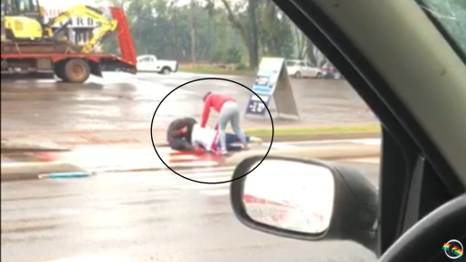 VÍDEO: Briga entre mulheres no centro de Maravilha