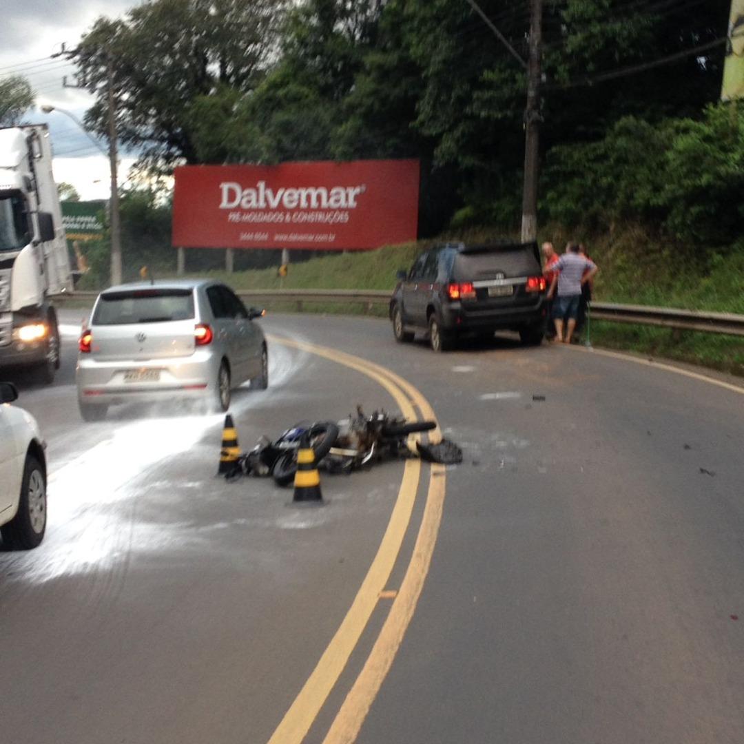 Jovem morre no hospital após acidente em Concórdia