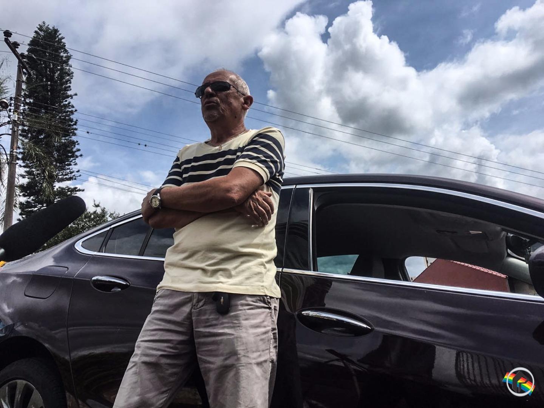COTIDIANOS: Um taxista com a profissão no sangue