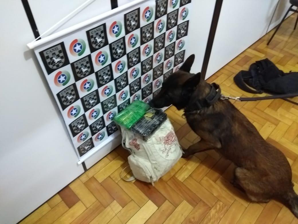 PM apreende Crack e Cocaína na rodoviária de São Miguel do Oeste