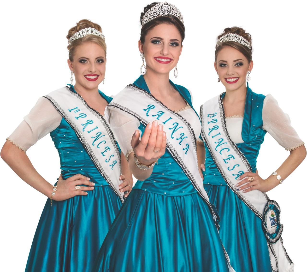 Homologadas candidatas a rainha e princesas de Iporã do Oeste