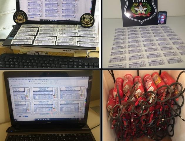Empresário é investigado por falsificar selos do Inmetro em extintores de incêndio