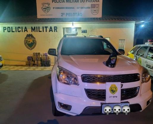 Polícia prende traficantes, recupera carro roubado e apreende 302 kg de droga
