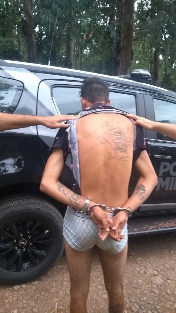 Carregamento de drogas é apreendido em São José do Cedro