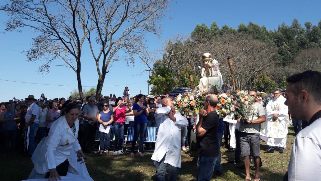 Romaria em homenagem a Nossa Senhora da Salette reúne devotos no Paraná