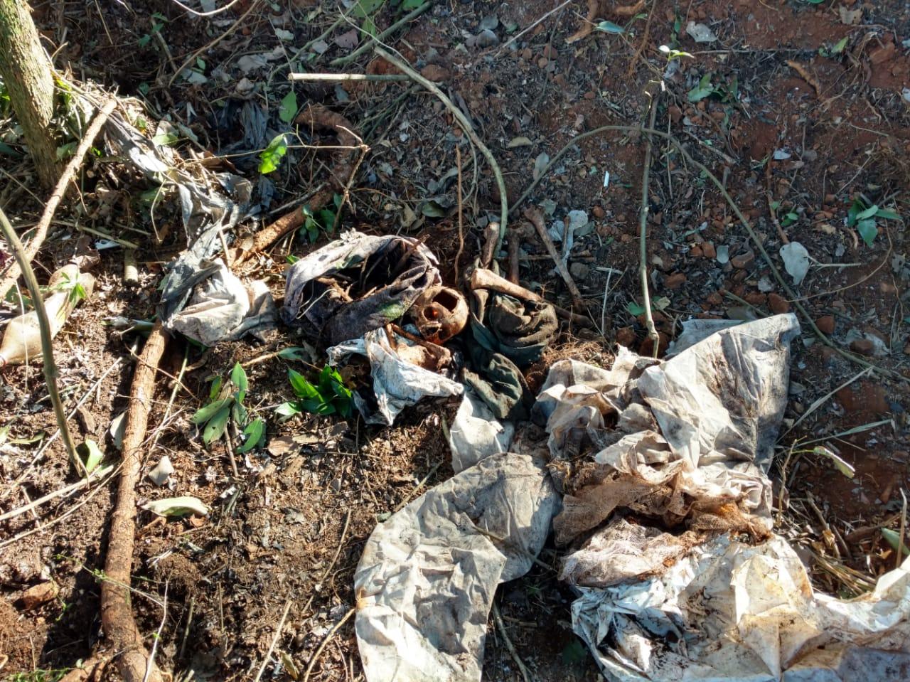 Agricultores encontram ossada humana no interior de São João do Oeste