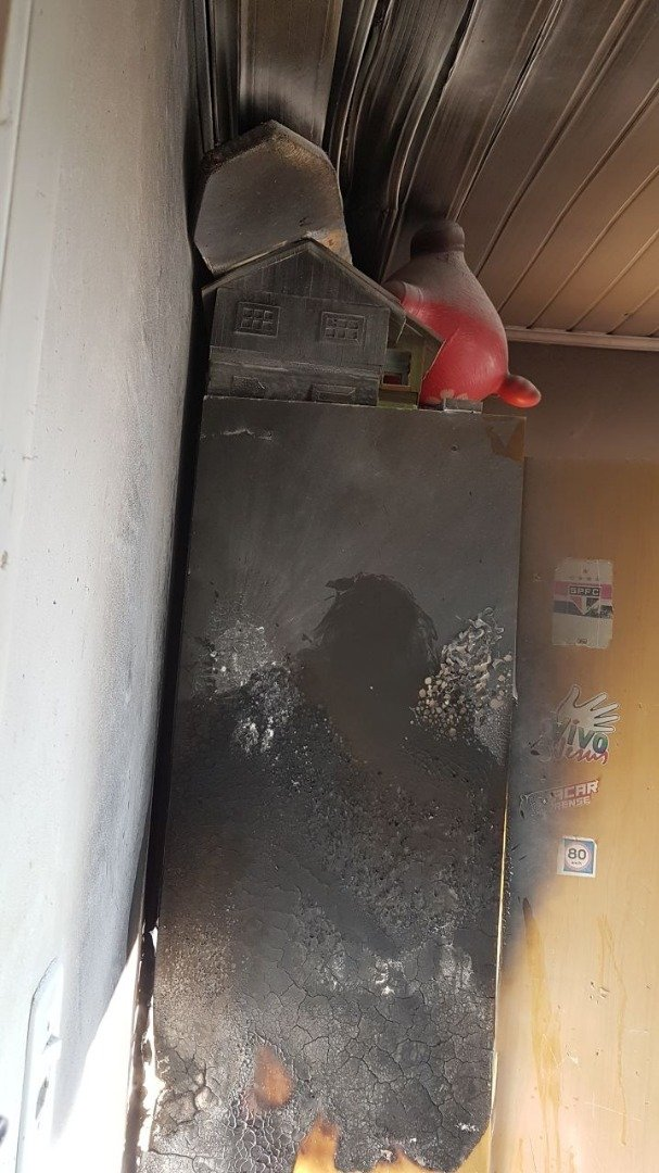 Princípio de incêndio mobiliza bombeiros e moradores em São José do Cedro