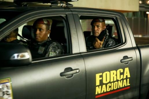 Força Nacional atua nas ruas de Fortaleza em meio a onda de ataques