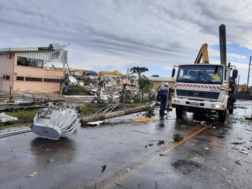 CICLONE: Celesc registra o maior dano da história na rede elétrica estadual