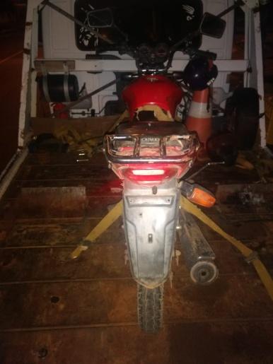 Argentinos são presos com motocicleta sem placa e com identificações raspadas na BR-163